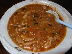 中華スープ&チリソースdeトマトスープ
