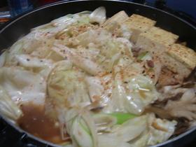 青森の馬肉鍋 (青森郷土料理その2)