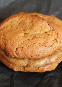 塩デーツのカシューナッツクッキーサンド