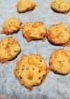 【糖質制限】しらすとゴマチーズのクッキー