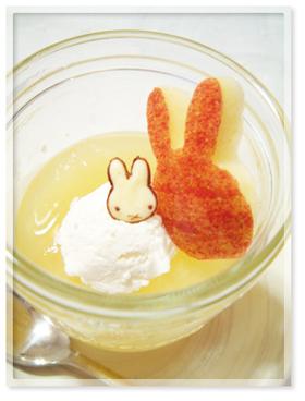 【簡単】ホエー&りんごゼリー