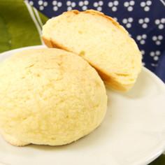 さっくりクッキー生地の自家製メロンパン