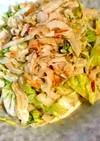 白菜と竹輪のマヨ醤油和え