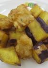 いかとさつま芋の揚げ煮 ★宇都宮学校給食
