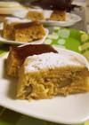 レンジで♡むき栗(天津甘栗)のケーキ