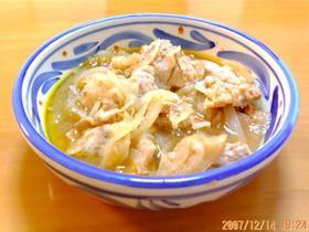 豚と玉ねぎの簡単ケチャップ煮