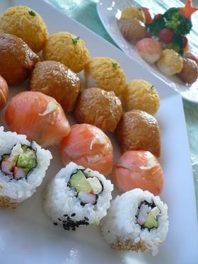 パーティーにぴったり☆ひとくち寿司
