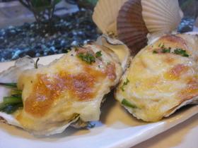 ✿牡蠣とチーズのとろ~りぐらたん✿