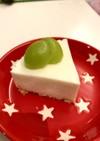 簡単 豆腐とヨーグルトのレアチーズケーキ