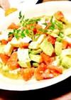 モッツァレラ アボカド トマトのサラダ