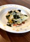 幼児食や離乳食完了にカボチャのチーズ焼き