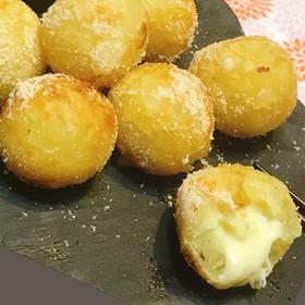 秋の野菜✿さつま芋チーズボール