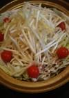 豚バラと白菜の洋風鍋☆