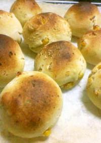 発酵なしのじゃがバタコーンのBPパン