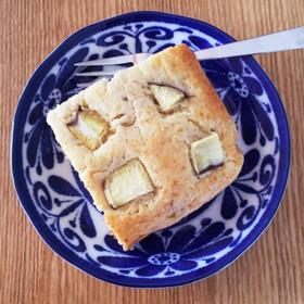 琺瑯バットで作るバナナケーキ