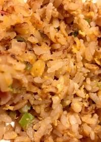 ニンニクの芽炒飯
