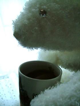 コーヒーにバニラのぬくもり