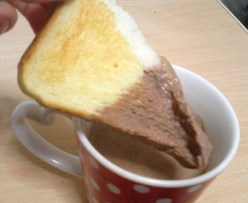 好きなパンの食べ方。