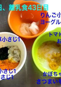 離乳食初期☆白身魚