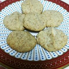 アーモンドパルプのナッツクッキー