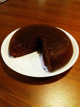 簡単!ズボラ!チョコバナナケーキ