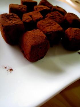 板チョコで作る生チョコレート