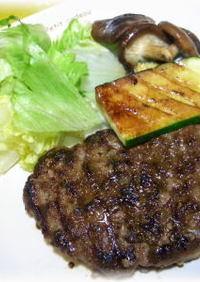 和牛脂で☆ジューシーハンバーグステーキ