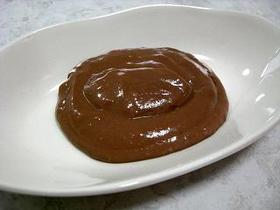 レンジでチョコカスタードクリーム