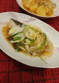 中華風⭐鱈(白身魚)のレンジ蒸し