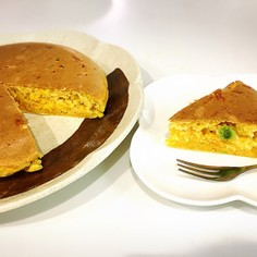 《幼児食》野菜たっぷりのホットケーキ♡