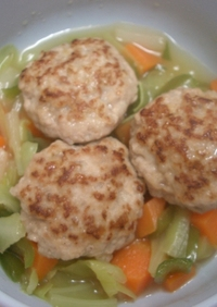 離乳食✿豚バーグと野菜煮✿