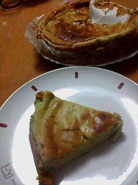 ローカロリー☆抹茶チーズケーキ