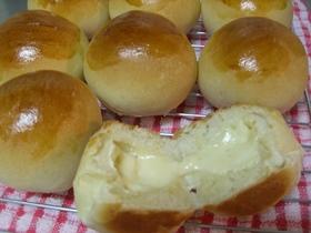 カマンベール&クリームチーズの丸パン