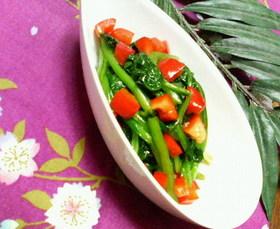 ✿パーティーに❀小松菜パプリカの✿ナムル