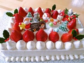 ワクワク♪クリスマスケーキ♪