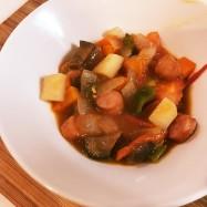【作り置き】余った野菜でミネストローネ