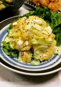 アンチョビとキャベツのポテトサラダ