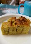 離乳食後期のサツマイモケーキ