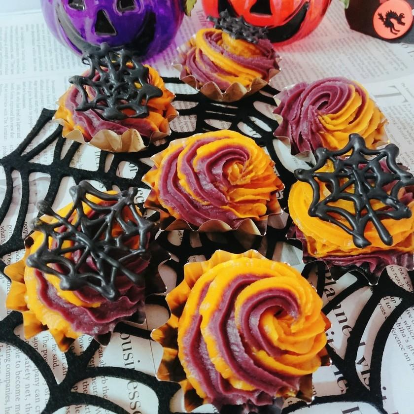 市販のMIXでハロウィンカップケーキⅡ