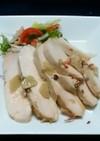 サラダチキン風~にんにく醤油鶏