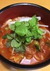 トマトスープうどん
