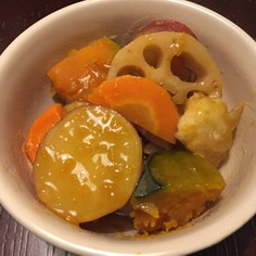秋野菜の煮物