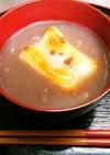 ☆コンビニの豆大福で!おしるこ☆☆☆