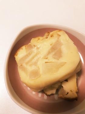 しっとりりんごヨーグルトケーキ