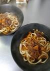 体を芯から暖める生姜の肉うどん