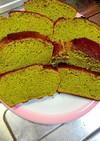 簡単自家製ふわふわ抹茶パウンドケーキ
