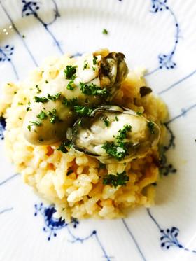 話題入感謝♡牡蠣とチーズの本格リゾット