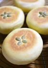 カボチャの平焼きパン