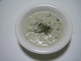 牡蠣のクリーム煮