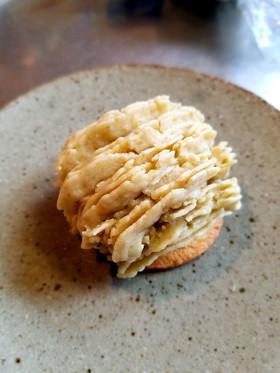 蒸した栗で簡単手作りモンブランケーキ